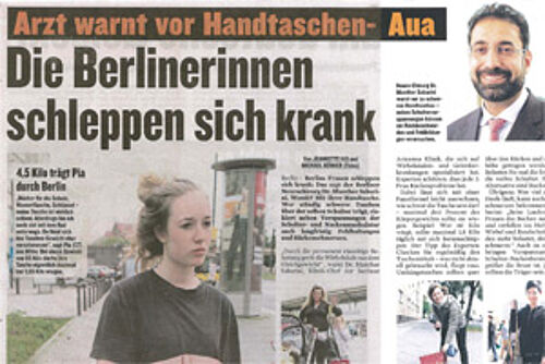 Newspaper article from Berliner Kurier