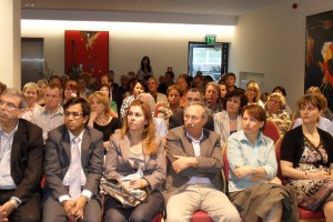 Audience at the Avicenna information event