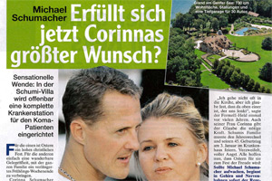 Newspaper article from Freizeit Woche