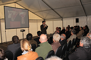 Audience at an Avicenna information event